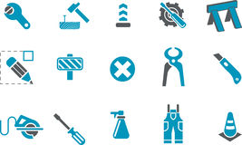 Works Icon Set Stock Image