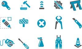 Works Icon Set Stock Image