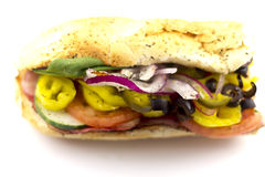 The Works Sandwich Royalty Free Stock Photos