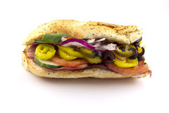 The Works Sandwich Stock Photography
