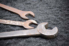 Works tension wrench Royalty Free Stock Images