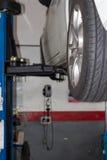 Workshocar workshopp αυτοκινήτων Στοκ εικόνα με δικαίωμα ελεύθερης χρήσης