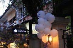 Workshop'balloons Photographie stock libre de droits