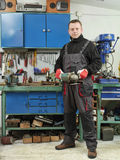 In the workshop Stock Image