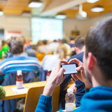 Workshop bij universiteit royalty-vrije stock foto