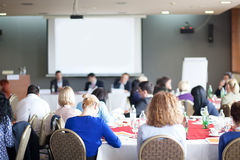 Workshop at conference meeting Royalty Free Stock Image