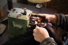 Workshop of fur Royalty Free Stock Photos