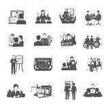 Workshop Icons Set Royalty Free Stock Image