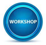 Workshop Eyeball Blue Round Button stock illustration