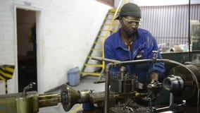 Workshop labour stock video footage