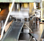 Workshop - Metal forming press Royalty Free Stock Image
