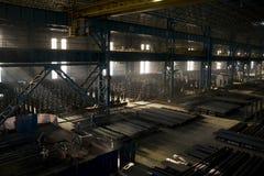 Workshop nella fabbrica immagine stock