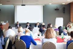 Workshop op conferentievergadering Royalty-vrije Stock Afbeelding