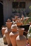 Workshop Potter-Ceramist-Marocco-Pottery Stock Image