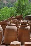 Workshop Potter-Ceramist-Marocco-Pottery Stock Images