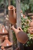 Workshop Potter-Ceramist-Marocco-Pottery Royalty Free Stock Photo