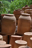 Workshop Potter-Ceramist-Marocco Royalty Free Stock Photography