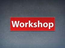 Workshop Red Banner Abstract Background. Workshop Isolated on Red Banner Abstract Background illustration Design vector illustration