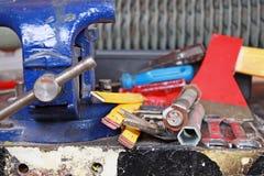 Workshop scene stock images