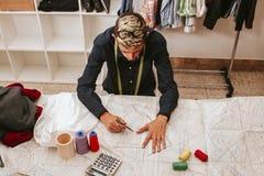 Workshop sewing Royalty Free Stock Image