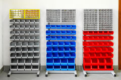 Workshop shelf Stock Photos