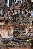 Workshop Tool Display. Stock Image