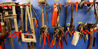 Workshop tools Stock Photography