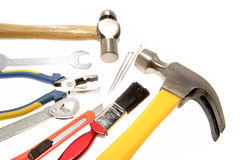 Workshop Tools Royalty Free Stock Photo