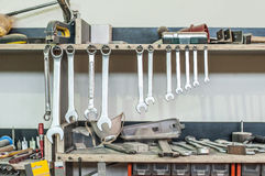 Workshop Tools Stock Photo