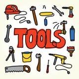 Workshop tools set Stock Photo