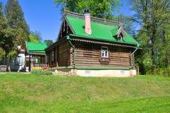 Workshop voor het praktizeren beeldhouwwerk in de museum-Reserve Abramtsevo Het Gebied van Moskou, Rusland royalty-vrije stock foto's