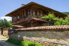 Workshop of weavers Bulgarian carpets Stock Image