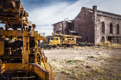 Workshops and Warehouses Alquife Mines Royalty Free Stock Images