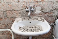 Free Worksite Bathroom Stock Photos - 43486803