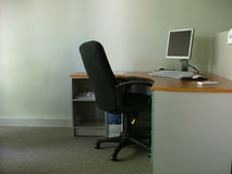 Workspace. Empty workspace Stock Photography