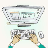 workspace libre illustration