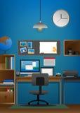 workspace Στοκ εικόνα με δικαίωμα ελεύθερης χρήσης