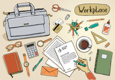 Workspace Stock Photography