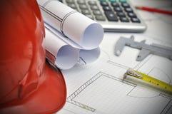 Workspace engineer Royalty Free Stock Image