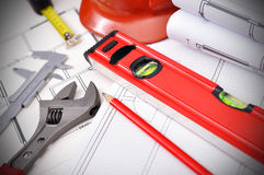 Workspace engineer Stock Images