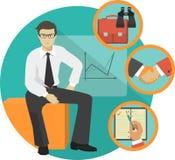 Workspace Office Illustration Stock Image