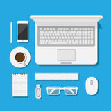 Workspace Royalty Free Stock Images