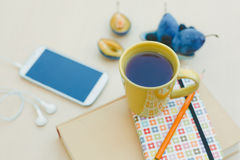 Workspace in summertime Royalty Free Stock Photos