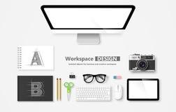 workspace Vecteur Photo libre de droits