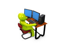 Workstation Stock Photography