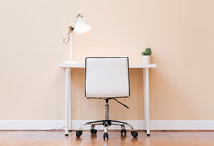 Free Workstation Desk In A Large Room Royalty Free Stock Images - 95052189