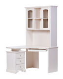 Workstation over white, with clipping path Stock Photo