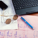 Worktable Royalty Free Stock Images