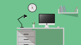worktable Imagens de Stock Royalty Free