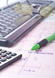 Worktable close up Stock Images